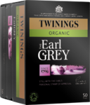 Twinings Organic Earl Grey Tea 50