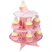 pink and mix cakestand