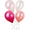 pink birthday baloons