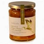 Apricot & Ginger Chutney with Almonds