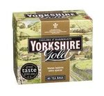 Yorkshire Tea Gold 40 Tea  Bags 125 g