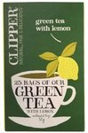 Clipper Green Tea with Lemon 50g   25Tea Bags