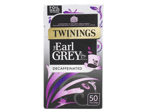 Twinings Earl Grey Decaf 50 tb